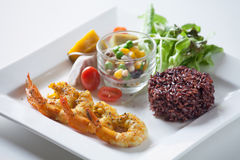 Salad, healthy food. Healthy food for your good life Stock Photo
