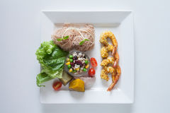 Salad, healthy food. Healthy food for your good life Royalty Free Stock Images