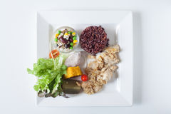 Salad, healthy food. Healthy food for your good life Stock Images