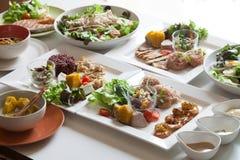 Salad, healthy food. Healthy food for your good life Stock Photos