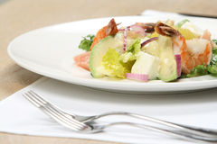 Salad In A Restaurant Royalty Free Stock Images