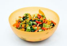 Free Salad In Bowl. Stock Images - 4411004