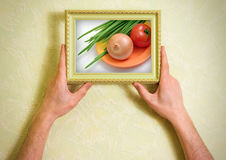 Salad ingredient Royalty Free Stock Photography