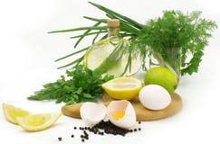 Salad ingredients Stock Image