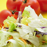 Salad ingredients Royalty Free Stock Image