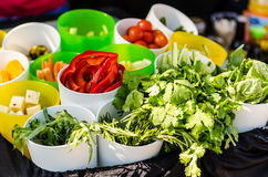 Salad Ingredients Stock Image