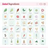Salad Ingredients Stock Photos