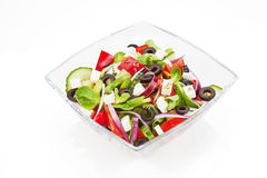 Salad isolated. Stock Photo