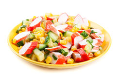 Salad Isolated Stock Photos