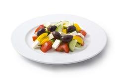 Salad. Isolated on white background Royalty Free Stock Photography