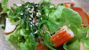 Salad japan style. Salad food for good health Royalty Free Stock Photography