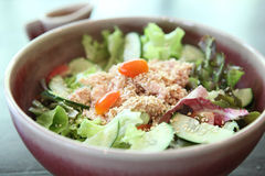 Salad japanese style with tuna Stock Photo