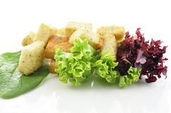 Salad leaves Stock Image