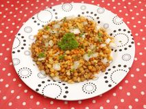 Salad of lentils Royalty Free Stock Photos