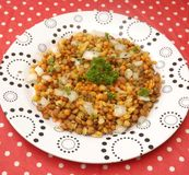 Salad of lentils Stock Photography