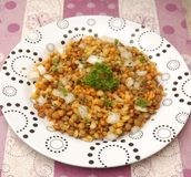 Salad of lentils Royalty Free Stock Photo