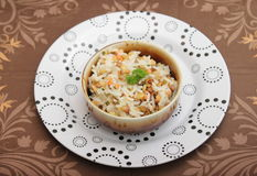 Salad of lentils with rice Royalty Free Stock Photography