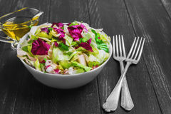 Salad of lettuce Royalty Free Stock Photo