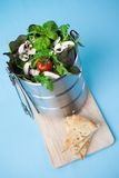 Salad in lunch box Stock Photography