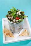 Salad in lunch box Royalty Free Stock Photography