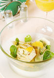 Salad made of fennel and oranges Royalty Free Stock Photography