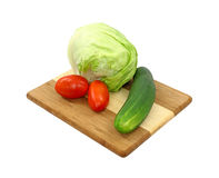 Salad makings Stock Photos