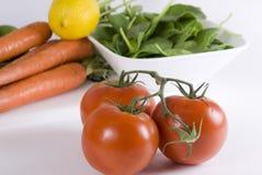 Salad makings Royalty Free Stock Images