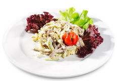 Salad with Meat Stock Images