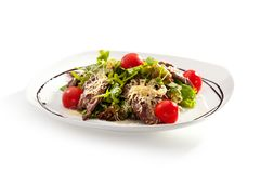 Salad with Meat Stock Photo