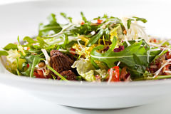 Salad with Meat Royalty Free Stock Photo