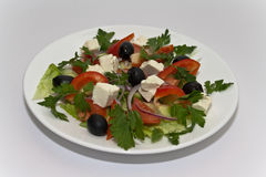Salad med Royalty Free Stock Photography