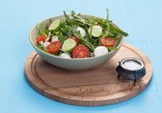 Salad with mozzarella Stock Photography