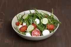 Salad with mozzarella Stock Image