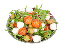 Salad mozzarella Royalty Free Stock Photos