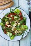 Salad with mushroom Royalty Free Stock Photography
