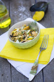 Salad of mussel Royalty Free Stock Photography