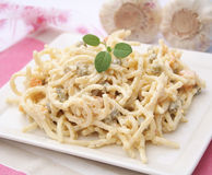 Salad of noodles Royalty Free Stock Photo