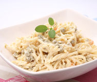 Salad of noodles Stock Photography