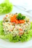 Salad Olivier. Royalty Free Stock Photo