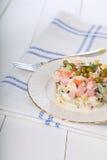 Salad Olivier Stock Photos