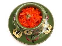 Salad of paprika Stock Photo