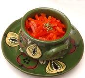 Salad of paprika Stock Image