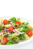 Salad with pasta Royalty Free Stock Photography