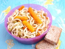 Salad of pasta Royalty Free Stock Photo