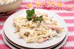 Salad of Pasta Royalty Free Stock Images