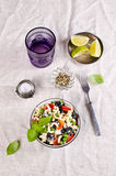 Salad with pasta Stock Image