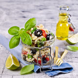 Salad with pasta Stock Images