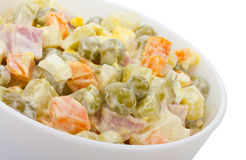 Salad with pea Royalty Free Stock Photography