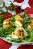 Salad with pears and cheese Royalty Free Stock Photography