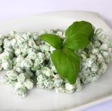 Salad of peas Stock Photography